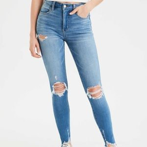 AE Dream Super High-Waisted Jegging Size 4 Skinny